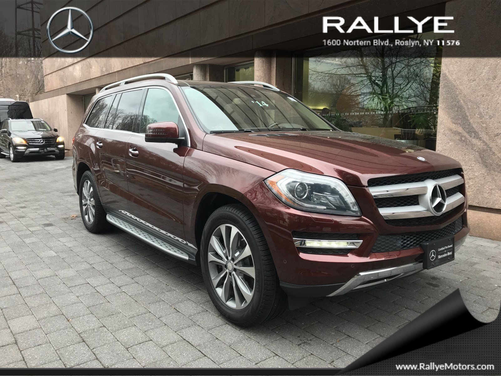 Certified pre owned 2014 mercedes benz gl gl 450 suv in for Mercedes benz roslyn