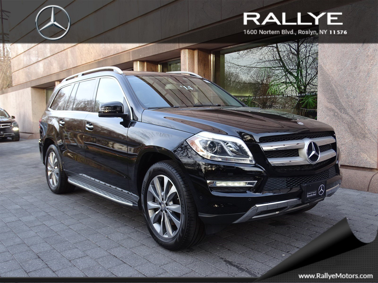 Certified pre owned 2014 mercedes benz gl gl450 suv in for Mercedes benz roslyn