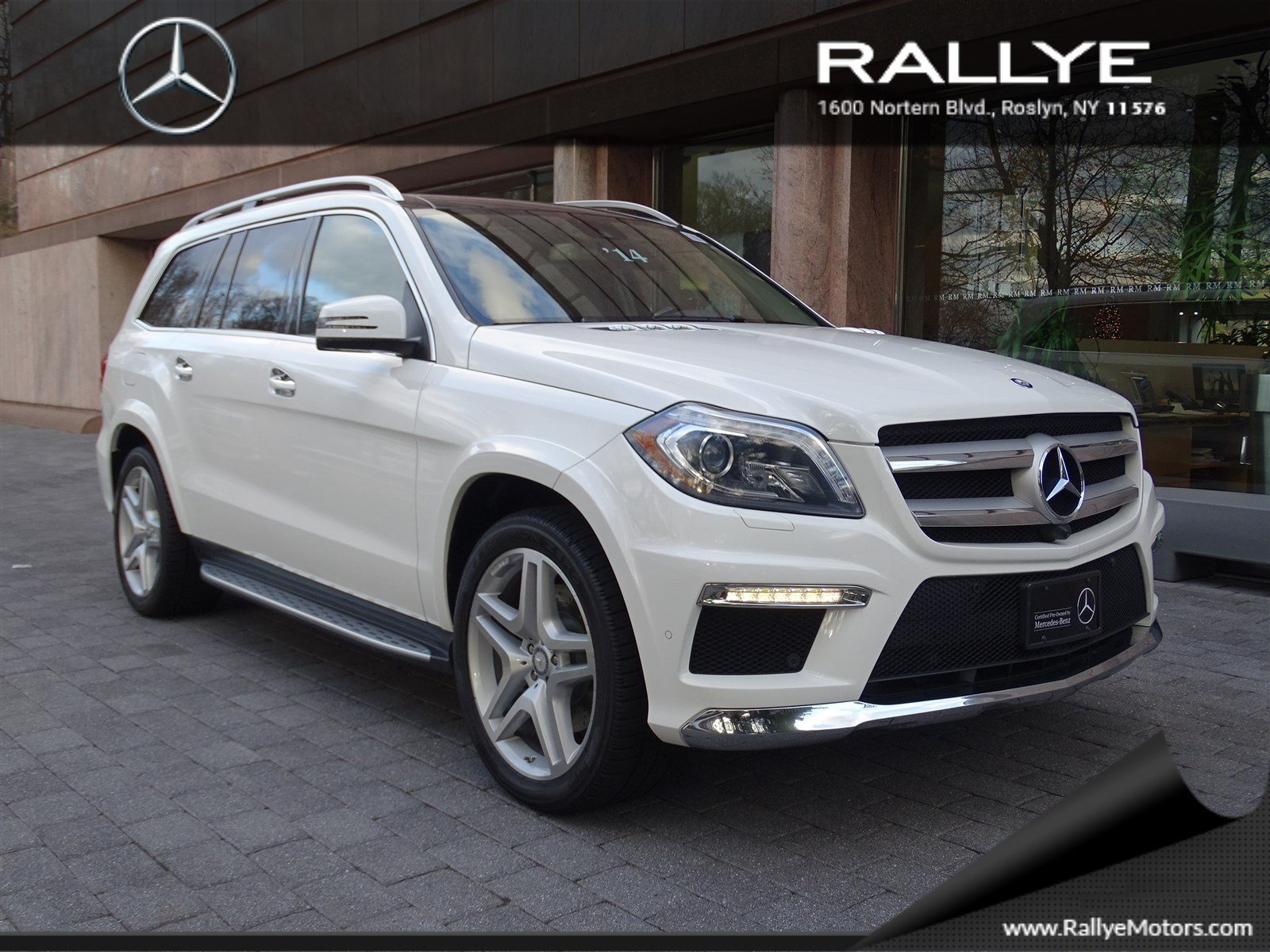 Certified pre owned 2014 mercedes benz gl gl 550 suv in for Rallye mercedes benz