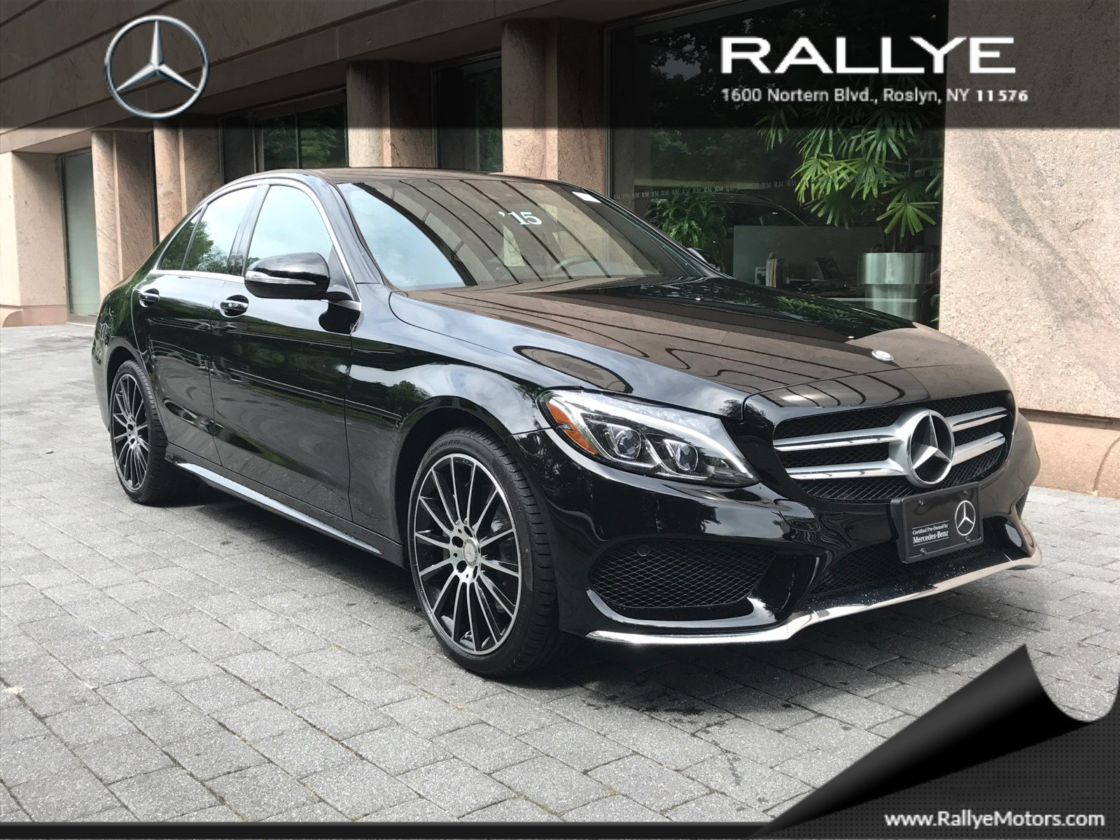 Certified pre owned 2015 mercedes benz c class c 300 sport for Mercedes benz c class pre owned