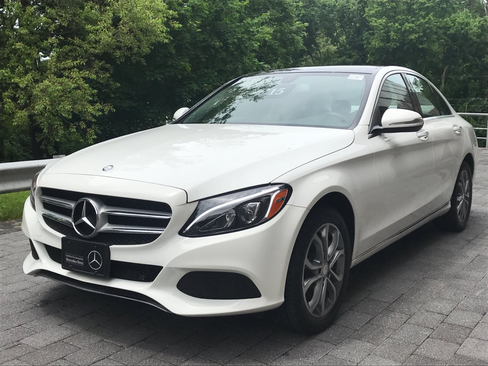 Certified pre owned 2015 mercedes benz c class c 300 sedan for Mercedes benz c class pre owned