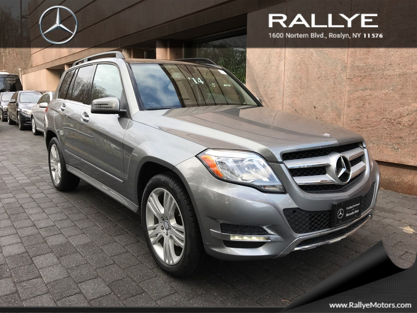 certified pre owned 2014 mercedes benz glk glk 350 sport utility in roslyn 27298 rallye motors. Black Bedroom Furniture Sets. Home Design Ideas