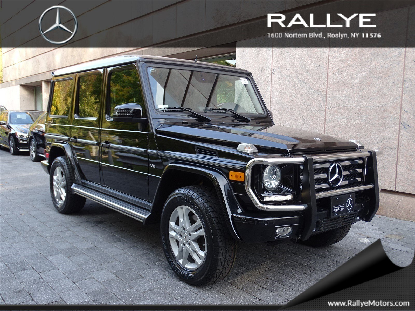 certified pre owned 2013 mercedes benz g class g550 suv in roslyn 26957 rallye motors. Black Bedroom Furniture Sets. Home Design Ideas