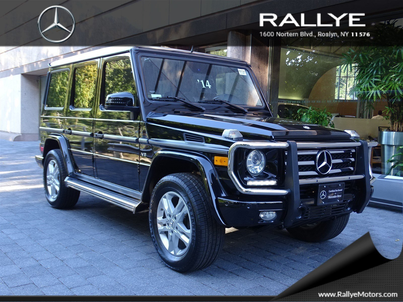 Pre owned 2014 mercedes benz g class g 550 sport utility for Mercedes benz roslyn
