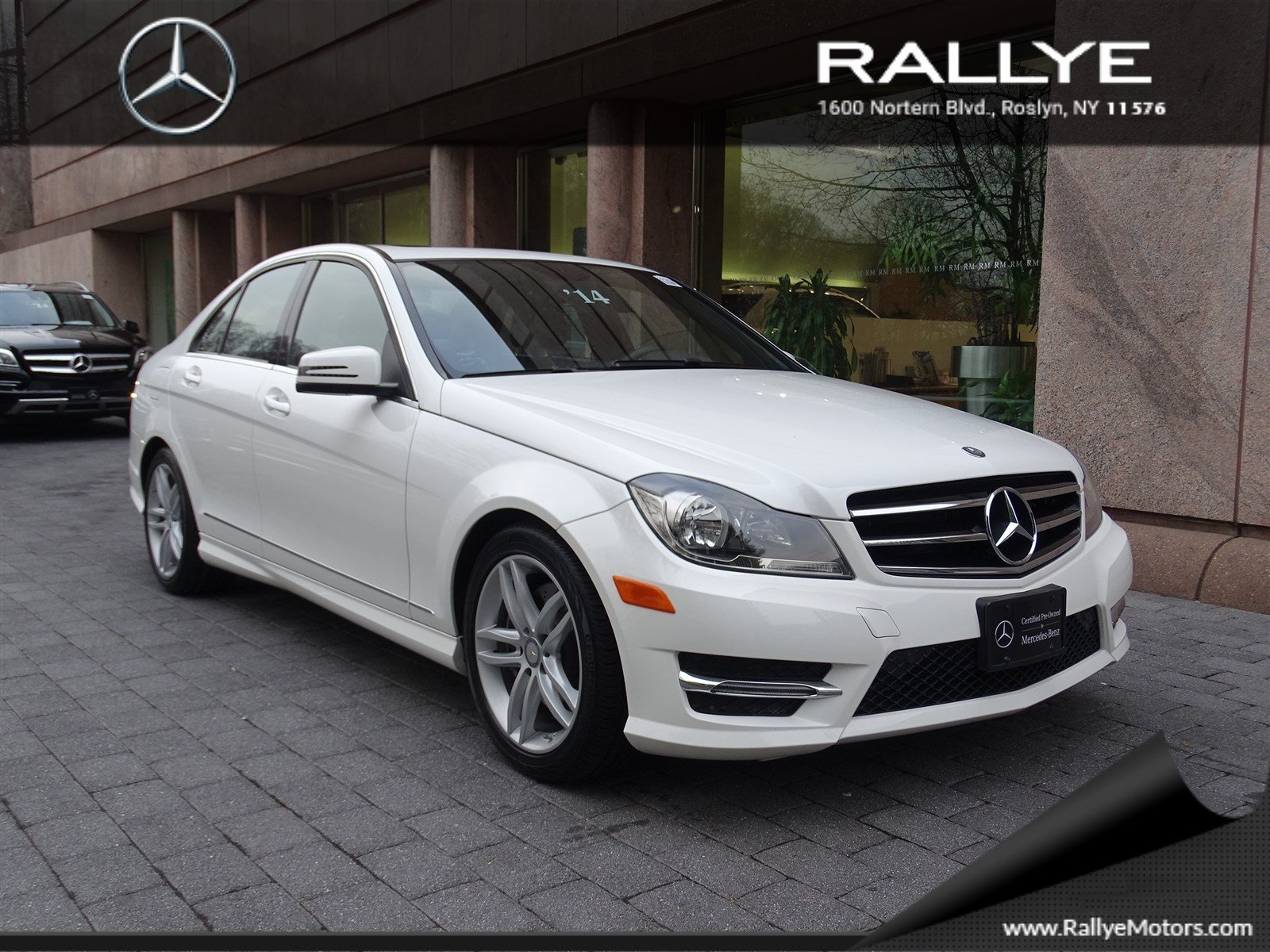 Pre owned 2014 mercedes benz c class c300 sport 4dr car in for Mercedes benz c class pre owned