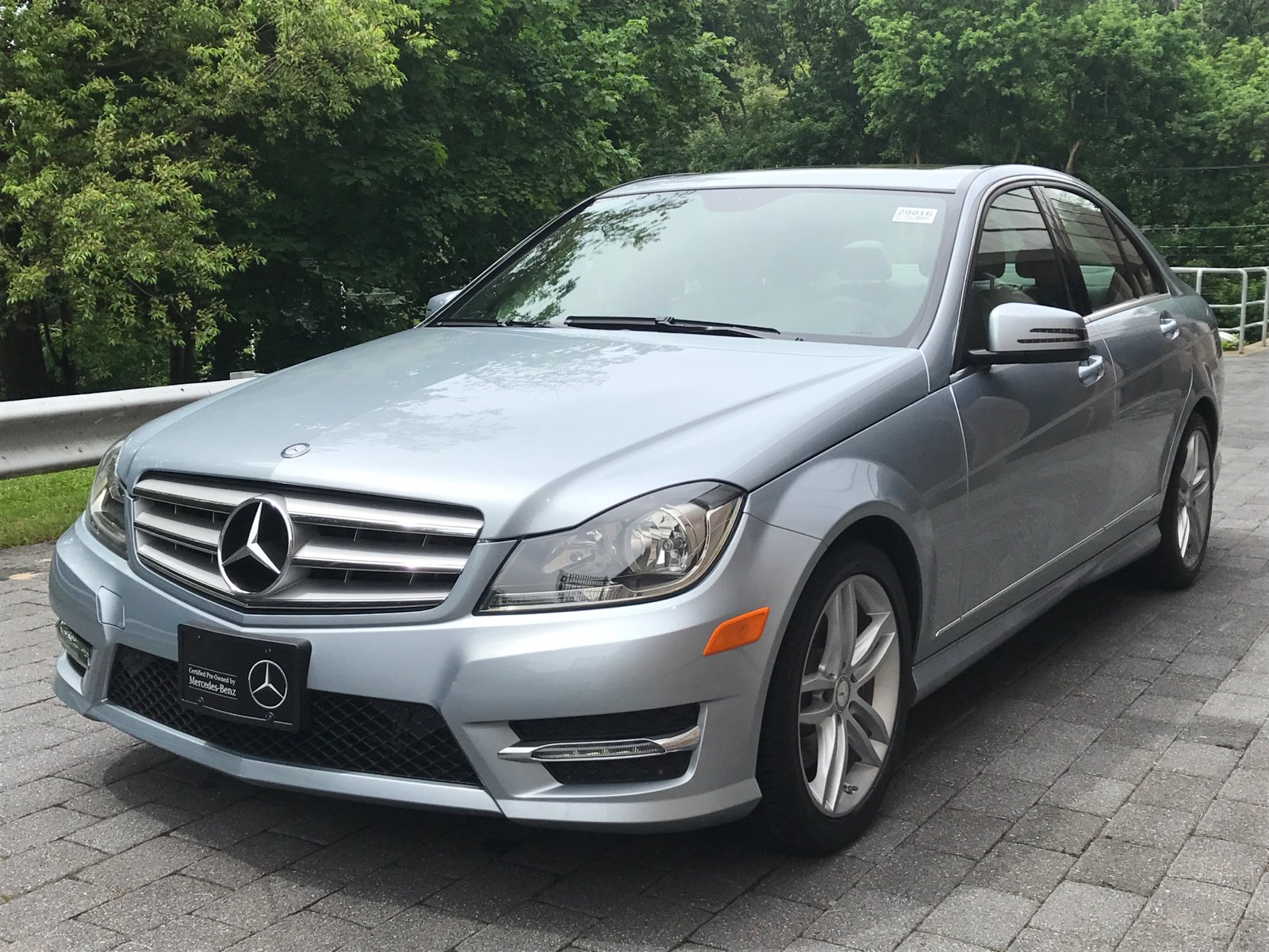 Certified pre owned 2013 mercedes benz c class c 300 sport for 2013 mercedes benz c class c 300 4matic