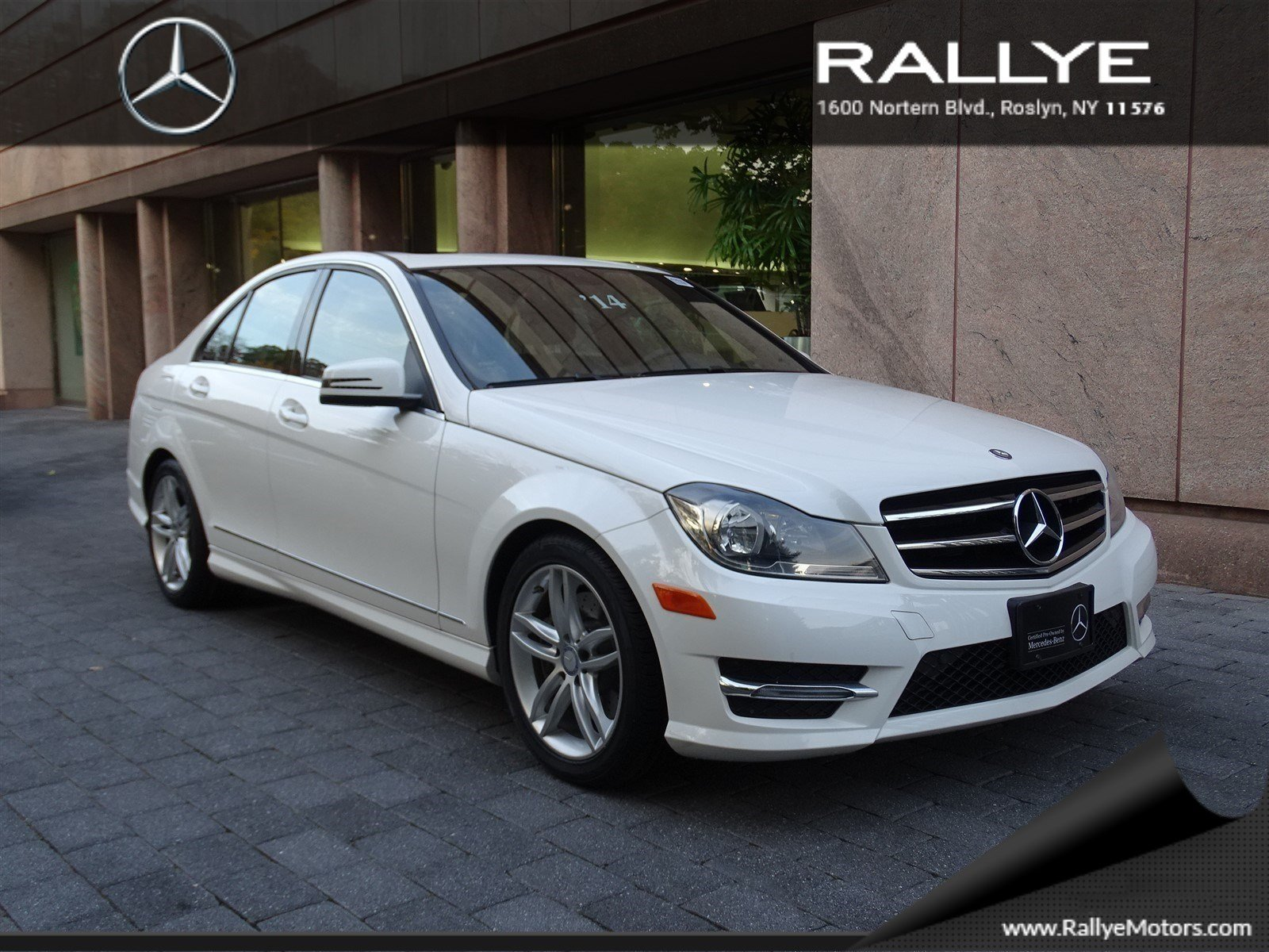 Certified pre owned 2014 mercedes benz c class c300 sport for Mercedes benz pre owned vehicles
