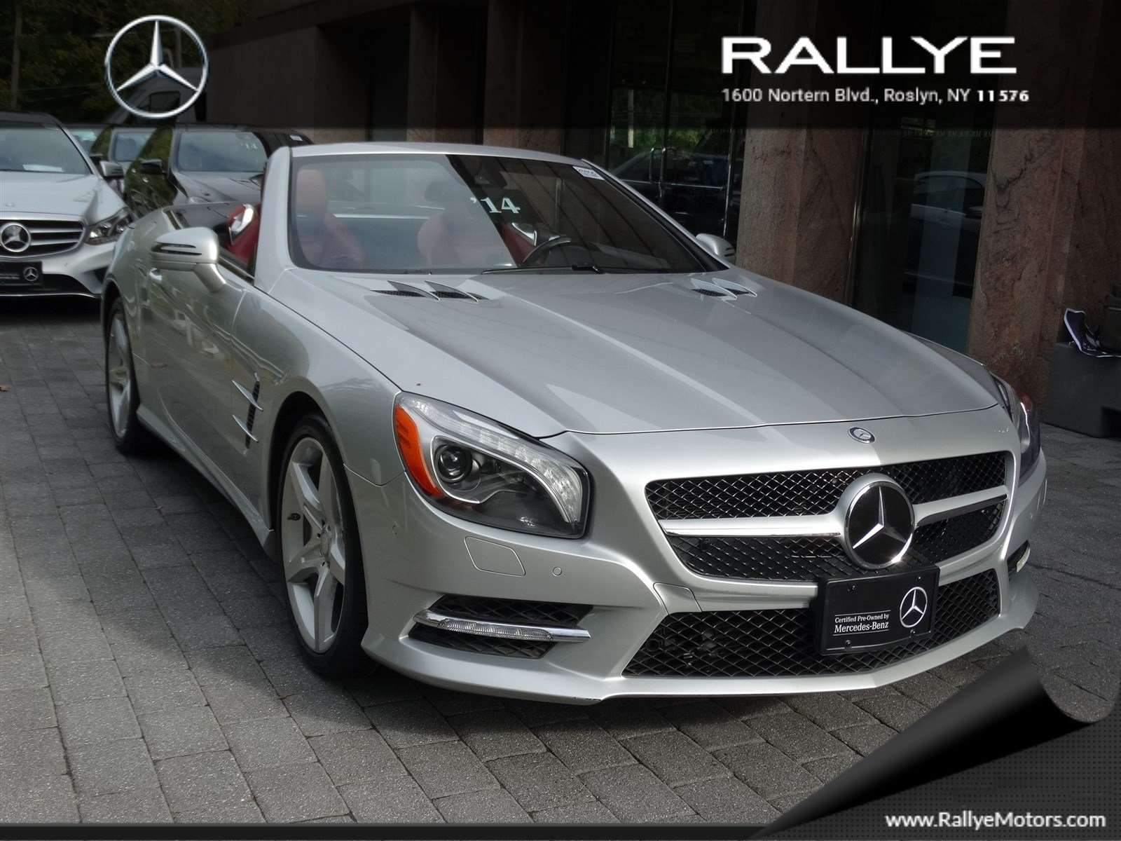 Certified pre owned 2014 mercedes benz sl sl 550 coup rdst for Mercedes benz roslyn