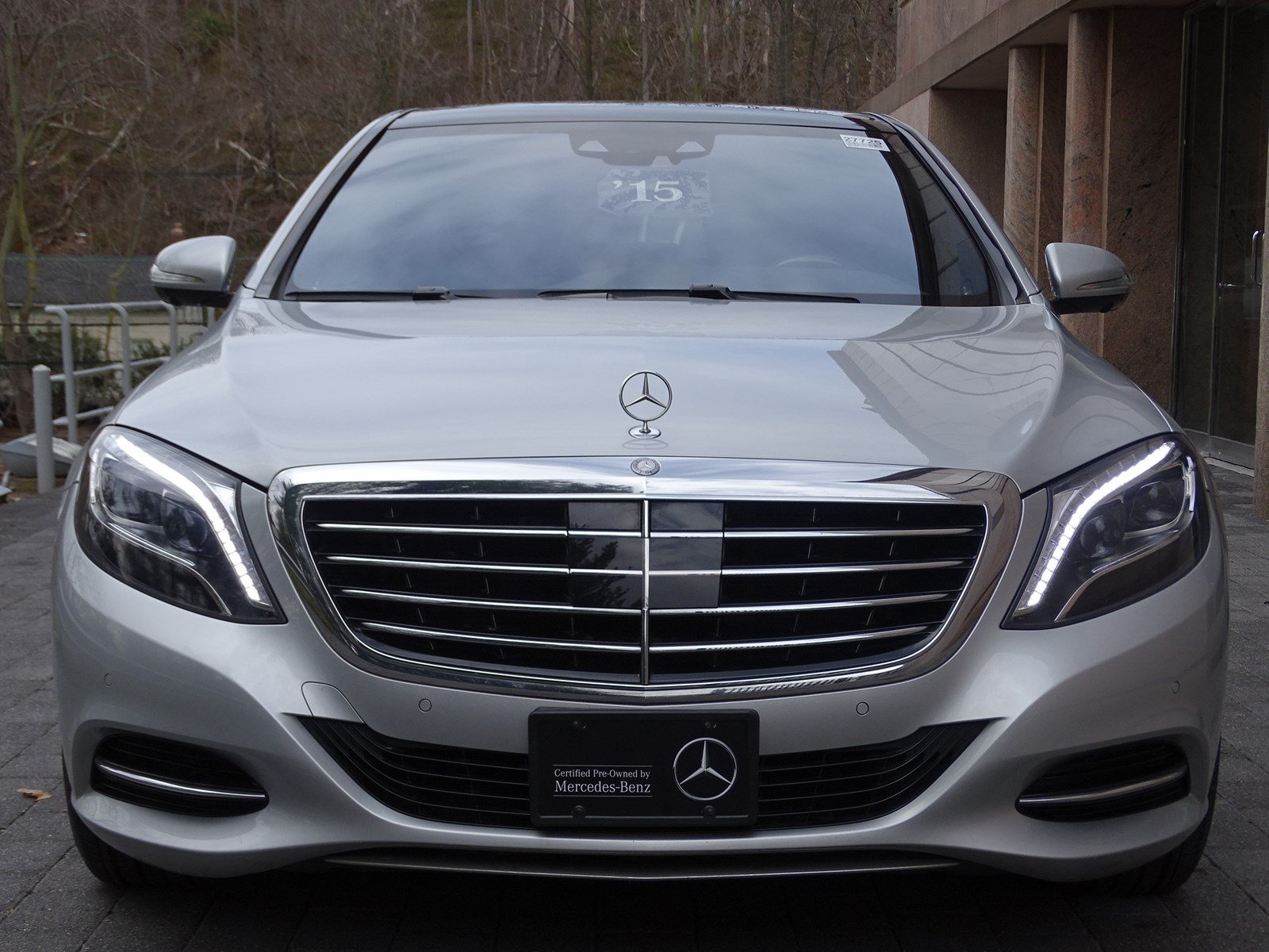 Certified pre owned 2015 mercedes benz s class s 550 sedan for Certified pre owned mercedes benz