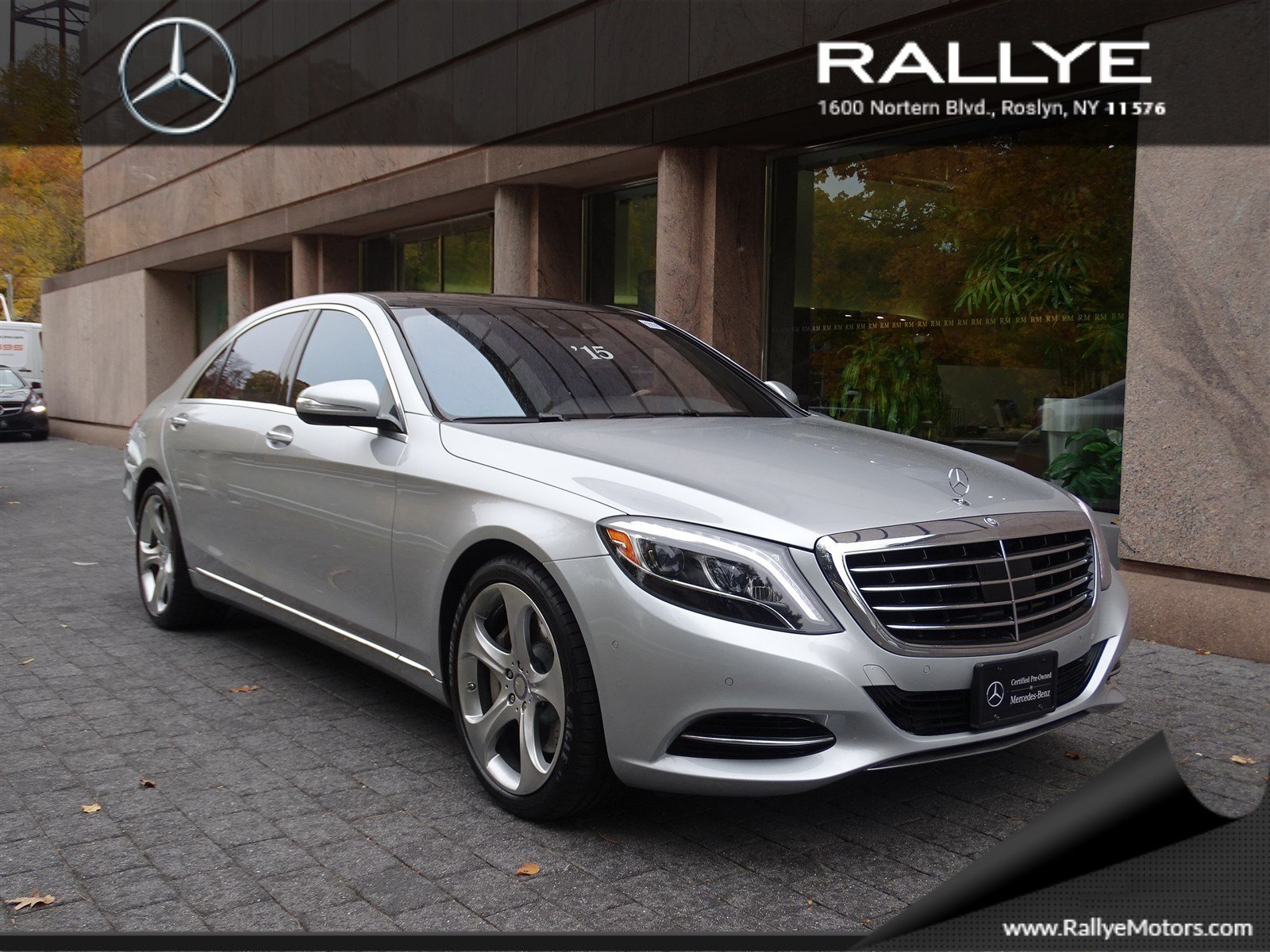 certified pre owned 2015 mercedes benz s class s550 sedan