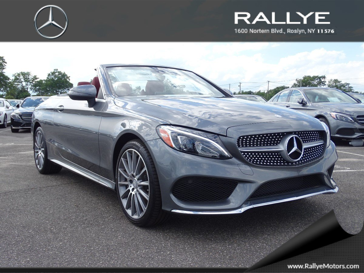 New 2017 mercedes benz c class c 300 sport cabriolet in for Mercedes benz roslyn