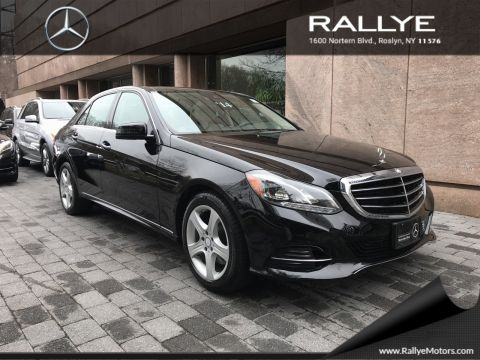 Certified pre owned 2014 mercedes benz e class e350 sedan for Mercedes benz northern blvd