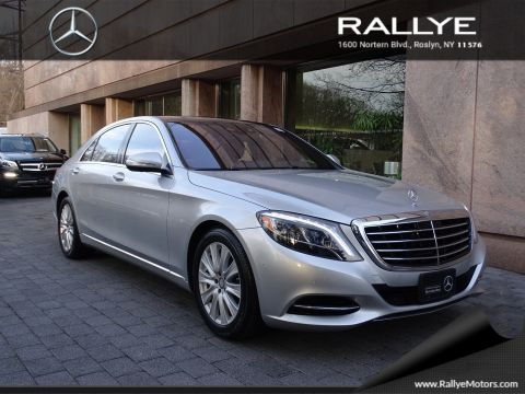 New mercedes benz s class in roslyn rallye motors for Mercedes benz roslyn